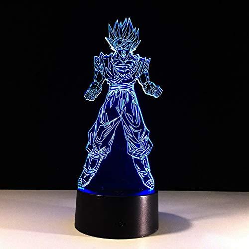 Lámpara de ilusión visual 3d wangZJ/regalo de navidad/iluminación de la decoración del...