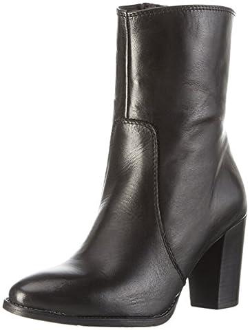 Tamaris Damen 25385 Kurzschaft Stiefel, Schwarz (Black Leather 003), 40 EU