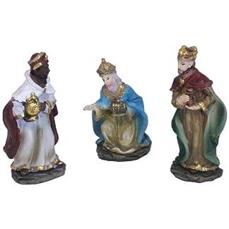 Oliver Art – Kit de 3 Figuras de los Reyes Magos