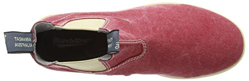 Blundstone 1424 - Tela, Stivali Manica Corta Unisex-adulto Rosso (rosso)