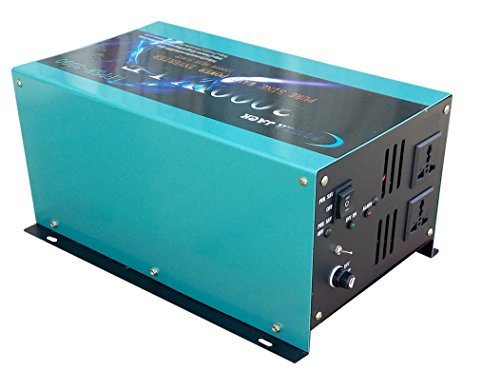Upgrade Version 12000W PEAK/3000W Spannungswandler Reiner/SINUS Wechselrichter Power inverter dc 12V/ac 230V,Konverter - Ac Power Inverter