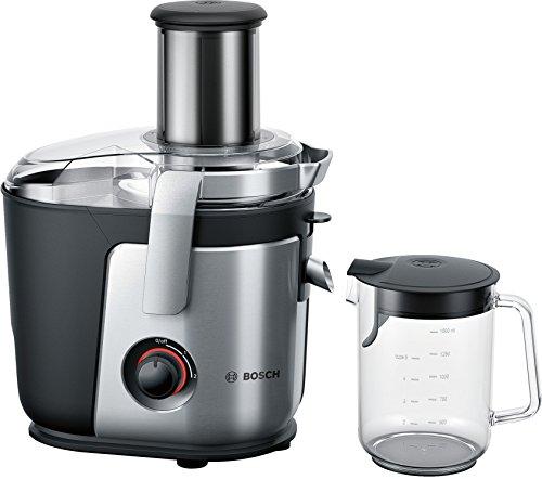 Bosch MES4000GB Licuadora 1000 W, Aluminio, 2 Velocidades, Negro, Plata
