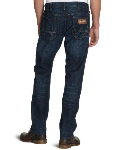 Wrangler - Ben Iowa - Jeans - Homme Bleu - Iowa Worn in
