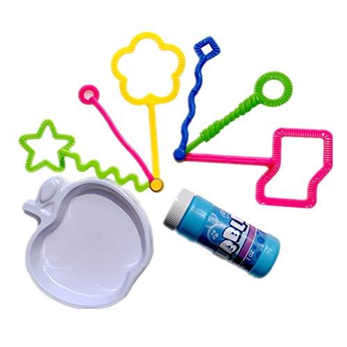 TOYANDONA Bubble Spielzeug Sets Mini Bubble Maker Sets für Kinder (Keine Blase Wasser in Blase Flasche) 8 Stücke (Nebelmaschine Seifenblasenmaschine)