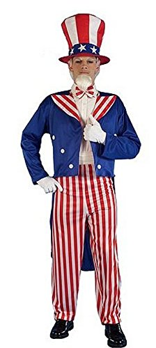 Forum Novelties Men's Patriotic Party Uncle Sam Halloween -