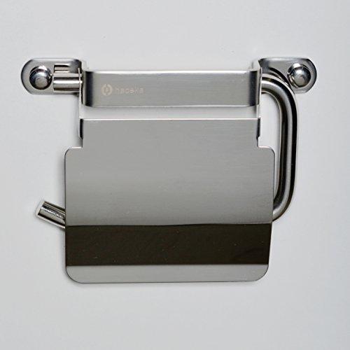 Haceka ixi polished Papierrollenhalter mit Deckel, 1181611