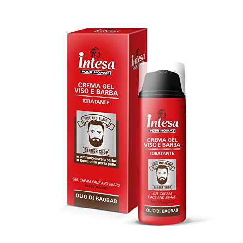 INTESA POUR HOMME crema gel facial barba hidratante