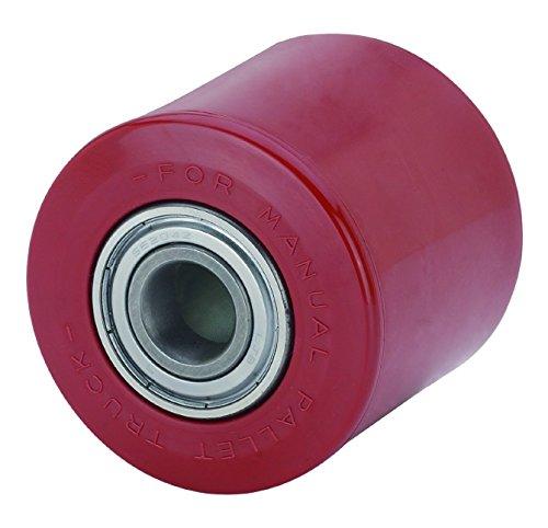 Pallet Truck Roller 82/mm width 80/mm Axle 17/mm Polyamide Wheel Rollers Lift Truck Spare Toilet Roll