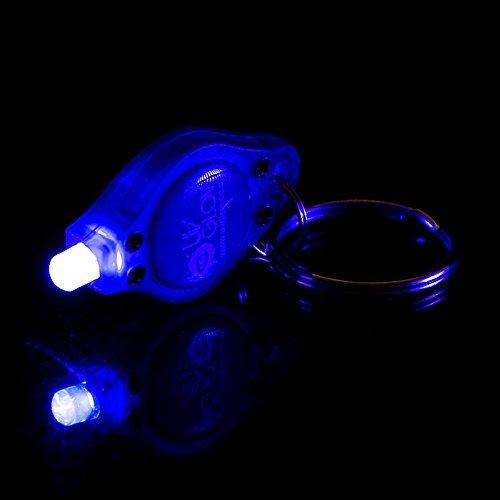 UV-Glow-UV-Schlüsselanhänger x20-Blacklight Spy Unsichtbarer Tinte Taschenlampe Licht-auch Gebrauch für Neon Face Paint, Laden Glow in the Dark (Glow Paint Neon Face)
