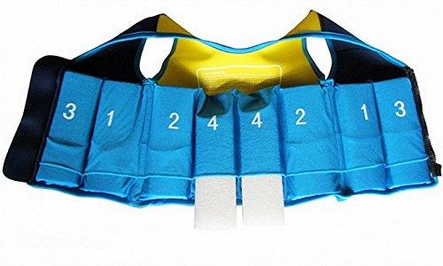 Titop Infant Baby Outdoor Sport Schwimmen Weste Kinder Schwimmen Weste Blau + Gelb Groß für 5–8Jahre