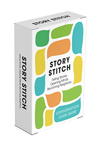 Story Stitch: Telling Stories. Opening Minds. Becoming Neighbors. (Stories Green Card)