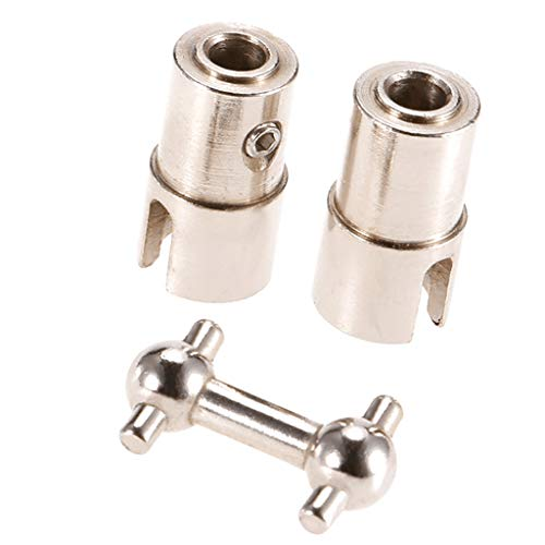 Fenteer Metall Metallgetriebe Getriebe Montage Bootszubehör für Feilun FT011 RC Boot