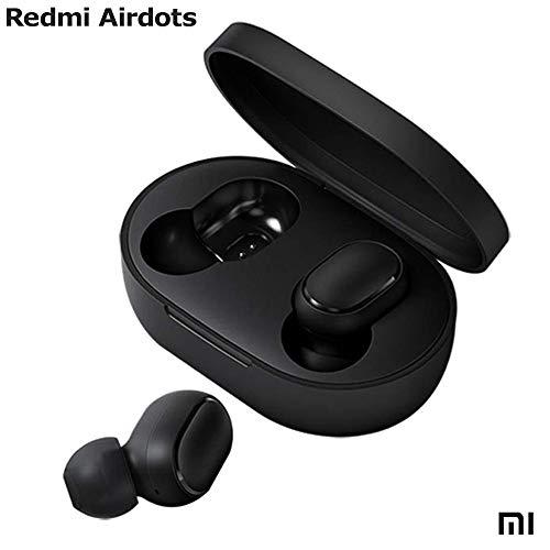 Xiaomi Redmi Airdots - Cuffie Wireless Bluetooth 5.0 - Audio Stereofonico (Stereo) Hi-Fi Custodia di Ricarica Magnetica Microfono 15 Ore Autonomia IPX5 - Certificato CE.