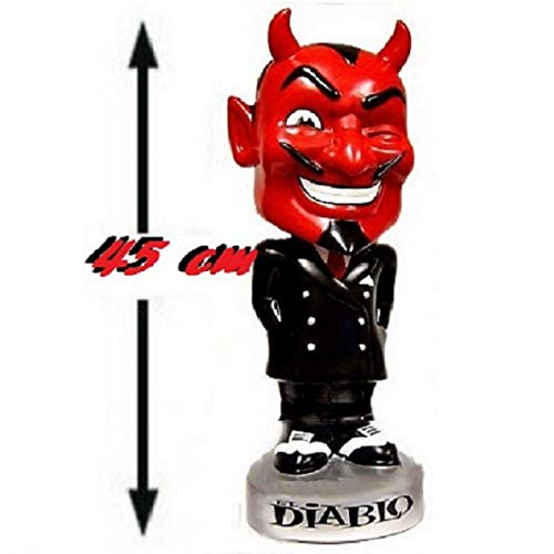 igur EL Diablo Fête 45cm. SELTEN Devil Teufel Figur ()