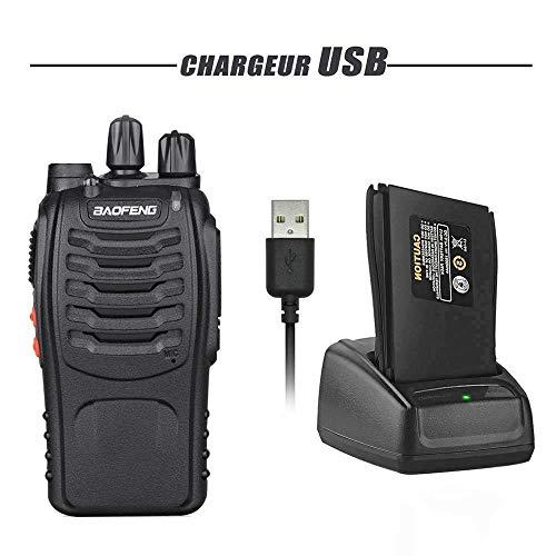 Zoom IMG-3 walkie talkie 2pcs ricetrasmittente 16
