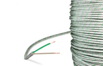Thermique Câble Type K–Verre soie 50m de 2échelle