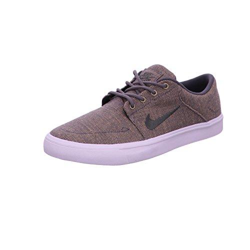 Nike Sb Portmore Cnvs Premium, Chaussures de Skate Homme Gris (Gris (dark grey/dark grey-white))