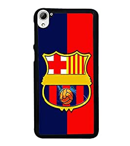 printtech Football Team Back Case Cover for HTC Desire 826 Dual