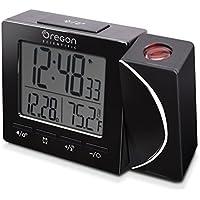 Oregon Scientific RM-512-P Reloj Proyector Radio Controlado, Negro,  100 x 25 x 75mm