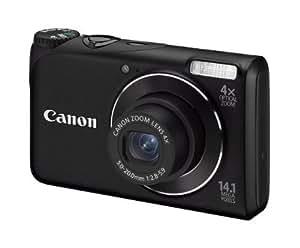 Canon PowerShot A2200 Digitalkamera (14,1 Megapixel, 4-fach opt, Zoom, 6,9 cm (2,7 Zoll) Display) schwarz