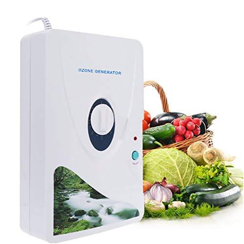 DXMCC Wasserreiniger Ozon Generator Zyklus 600mg / H Digitale Luftreiniger Plug-in Tötungsgeruch Geruch Entferner Sterilisator Anion Ion Ozonisator Für Home Food Gemüse Früchte, Luftreiniger (Plug-in Hepa-luftreiniger)