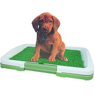 Freelogix Dog Puppy Potty Pad Toilet Training Tray - Organic Scent