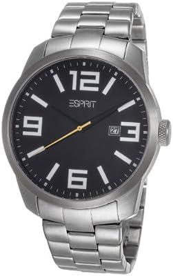 Esprit ES103842005 - Reloj de pulsera hombre, acero inoxidable, color plateado