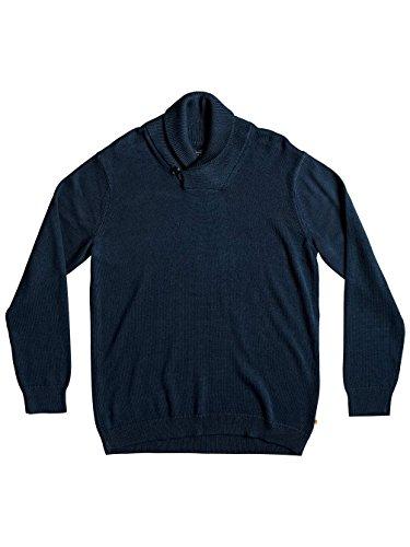 Herren Sweater Quiksilver Warm Winds Sweater major blue warm winds