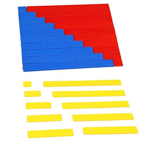 Cupcinu Montessori Mathematik Lehrhilfen Montessori Frühkindheit Lernspielzeug arithmetische Übung Kinder Auge und Hand Koordination Fähigkeit (Hände Auf Mathe)