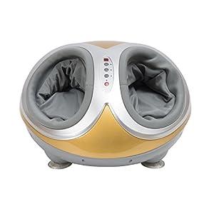 HOMCOM Fußmassage Fußmassagegerät Fußreflexzonenmassage Massage mit Wärmefunktion