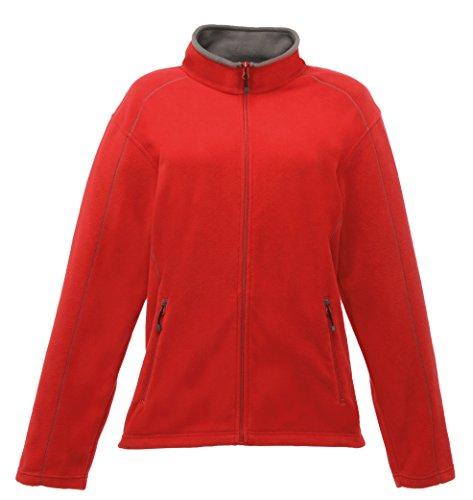 Frauen Adams Full Zip Fleece Classic Red / Smokey