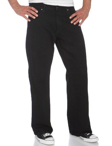 Dickies Herren Jeans mit 5 Taschen - Schwarz - 30W / 32L - Mens-dienstprogramm-hose