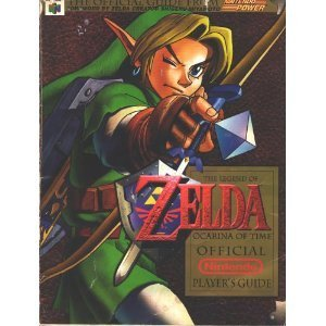 Legend of Zelda Ocarina of Time Official Nintendo Players Guide