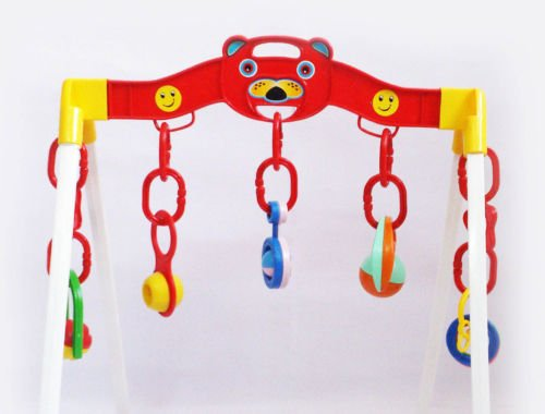 SHOPEE Play Gym for Baby with Hanging Toys & Rattles