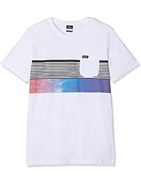Rip Curl Wilko Premuim SS tee Camiseta, Niños, Optical White, 12