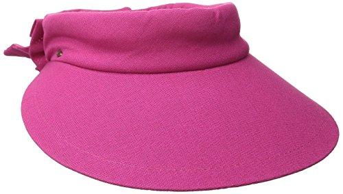 tropical-tendances-femme-v25-avec-visiere-de-protection-uv-upf-50-rose-taille-unique