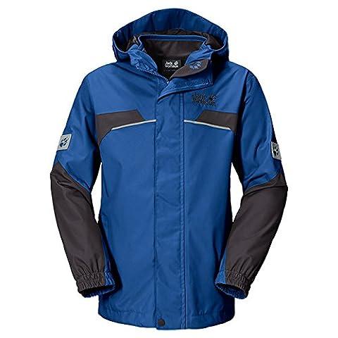 Jack Wolfskin Jungen 3in1-Jacke Boys Topaz Winter Jacket, Classic Blue, 104, 1604701-1127104