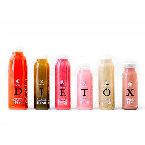 Detox-Säfte 2 Tage - 100% frische Shakes authentische Entgiftungstherapie