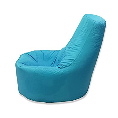 Large Bean Bag Gamer Recliner Outdoor and Indoor Adult Gaming Beanbag Garden Seat Chair Water and Weather Resistant
