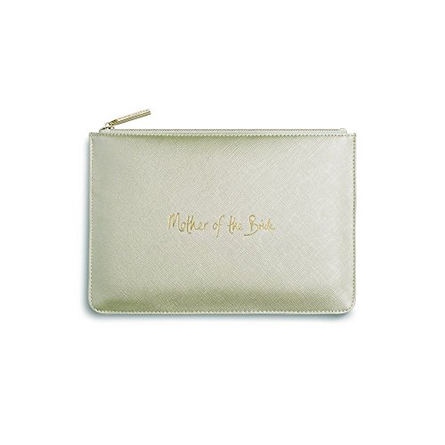 Katie Loxton - Perfect Pouch - Mother of the Bride - Metallic Gold