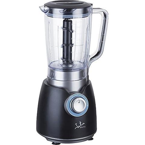 JATA BT800 Batidora de vaso Negro, Azul, Transparente 2L 800W - Licuadora (Acero inoxidable, De plástico, De plástico, Acero inoxidable)