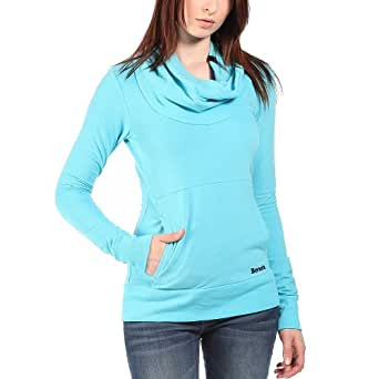 Bench Damen Sweatshirt Sweatshirt Inclu türkis (River Blue) Small