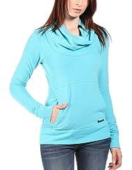 Bench Inclu - Sweat-shirt - Uni - Col châle - Manches longues - Femme