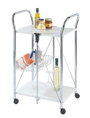 Wenko Küchenbeistellwagen Zusammenklappbar
