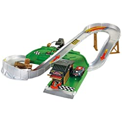 Mattel L8333-0 Hot Wheels Turbo Town - Circuito para coches