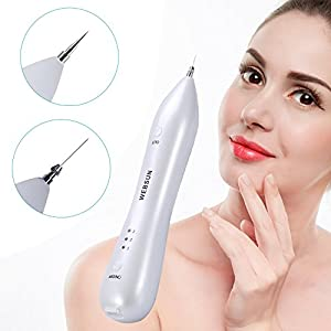 WEBSUN Skin Tags Removal USB Charging Tattoo Removal Pen Perfect for Mole, Age Spot, Freckles, and Skin Pigmentation at Home & Professional Portable Beauty Pen