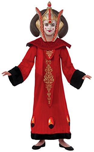 Deluxe Padme Amidala Kinderkostüm Star Wars Macht Kostüm für Kinder Gr. 104-152, (Kostüm Königin Halloween Amidala)