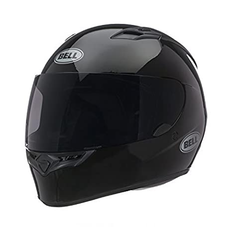 Bell Solid Adult Qualifier Road Race Motorcycle Helmet - Black - X-Large by Bell