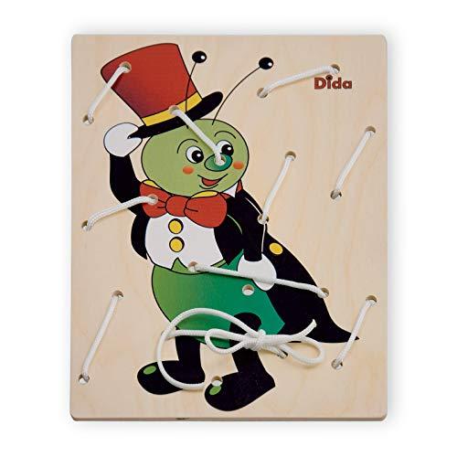 DIDA - Lacing Toy - Bastidor de Lazos - Grillo