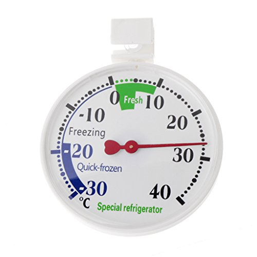 Termómetro para nevera o congelador, para uso doméstico